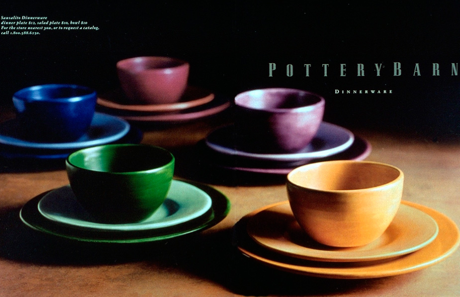pottery barn campaign (series of five)