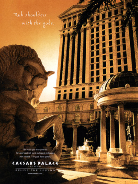 caesars palace campaign (series of eight)